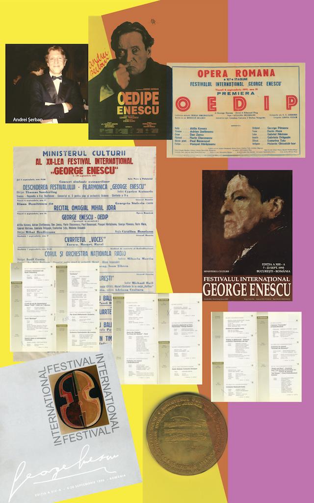 """09 – Lucrări de George Enescu interpretate în cadrul Festivalului Internațional """"George Enescu"""" – ed. 1991, 1995, 1998"""