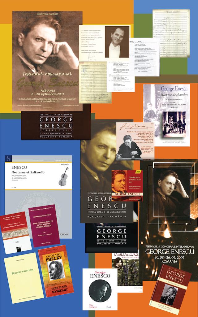 """11 – Creații enesciene în cadrul Concursului și Festivalului Internațional """"George Enescu"""", ed. 2001, 2003, 2005, 2007, 2009. Apariții discografice și editoriale"""