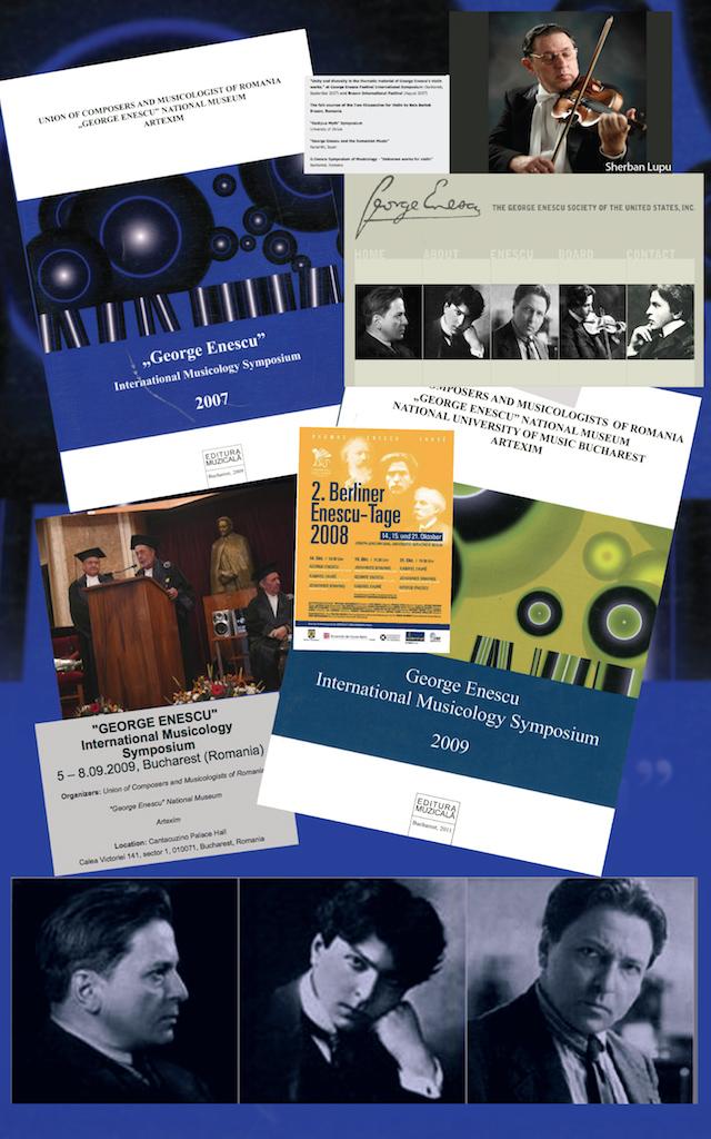 12 – Creația enesciană în simpozioane internaționale de muzicologie