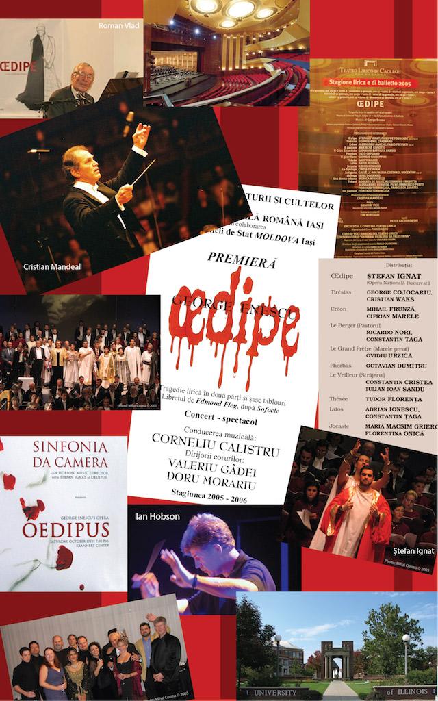 14 – Oedipe în anul 2005. Cagliari, Iași, Illinois (SUA)