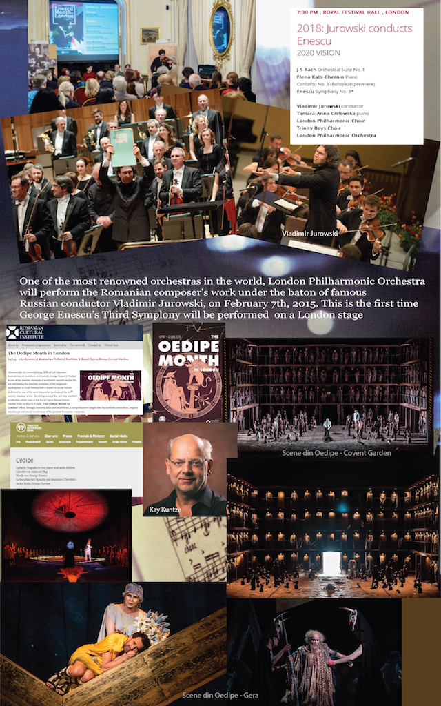 16 – Simfonia a III-a și Oedipe la Londra și Thuringen