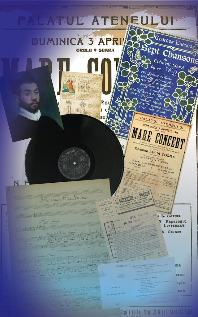 9. Sept Chansons de Clément Marot op. 15