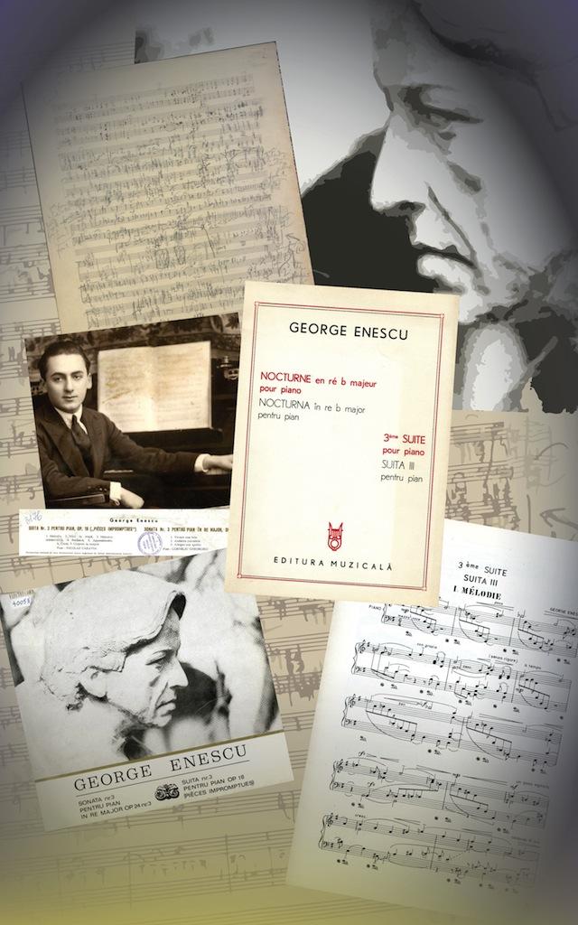 """11. """"Pièces impromptues"""" pentru pian op. 18 (publicate sub titlul Suita III pentru pian)"""