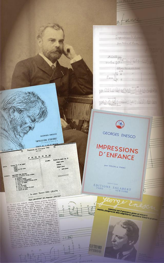 19. Impresii din copilărie pentru vioară și pian, op. 28