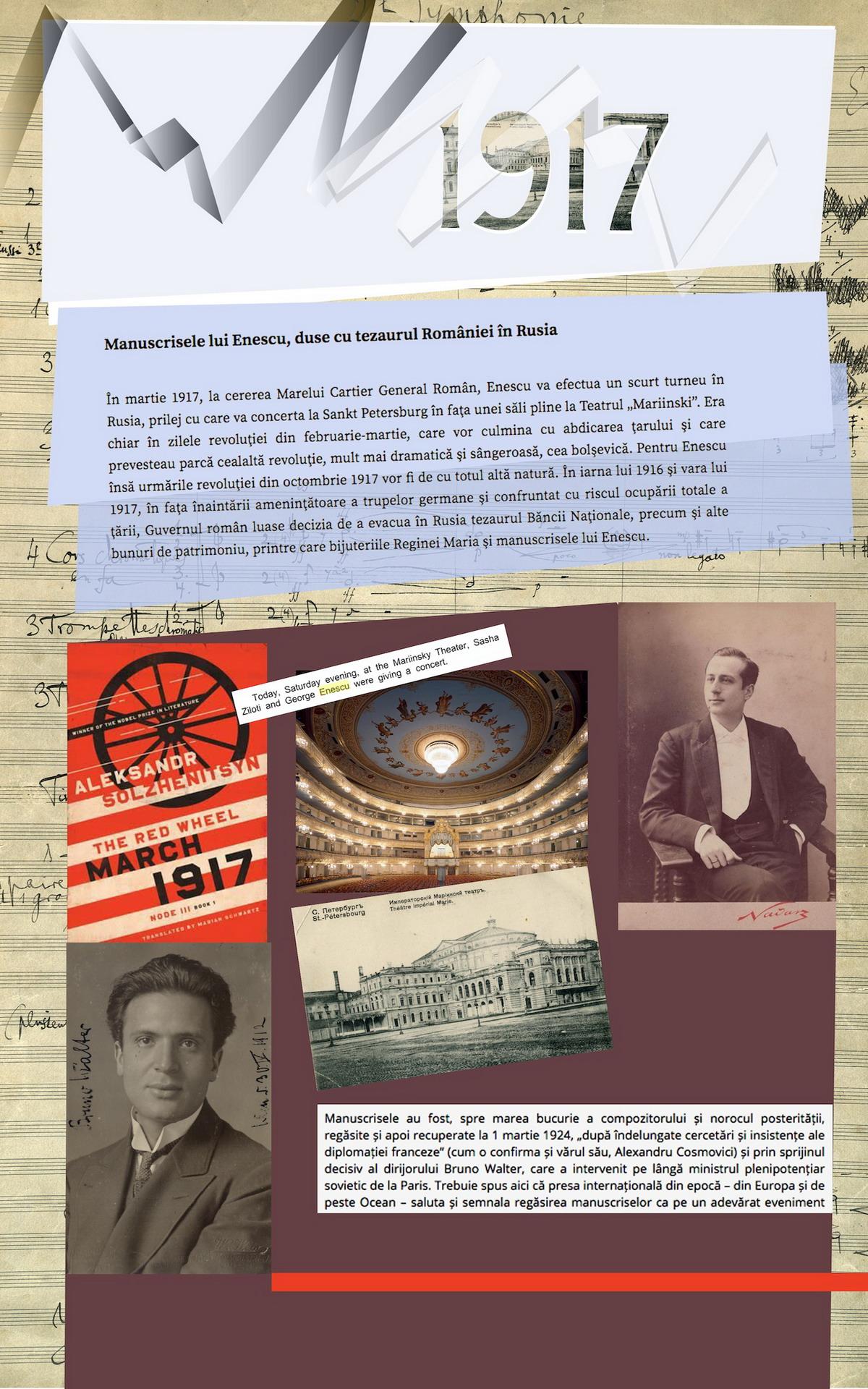 11. George Enescu la St. Petersburg