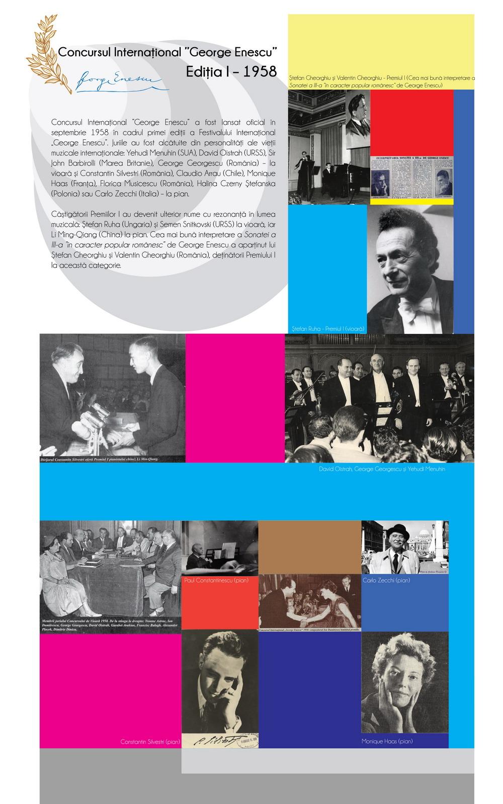 Ediția I – 1958