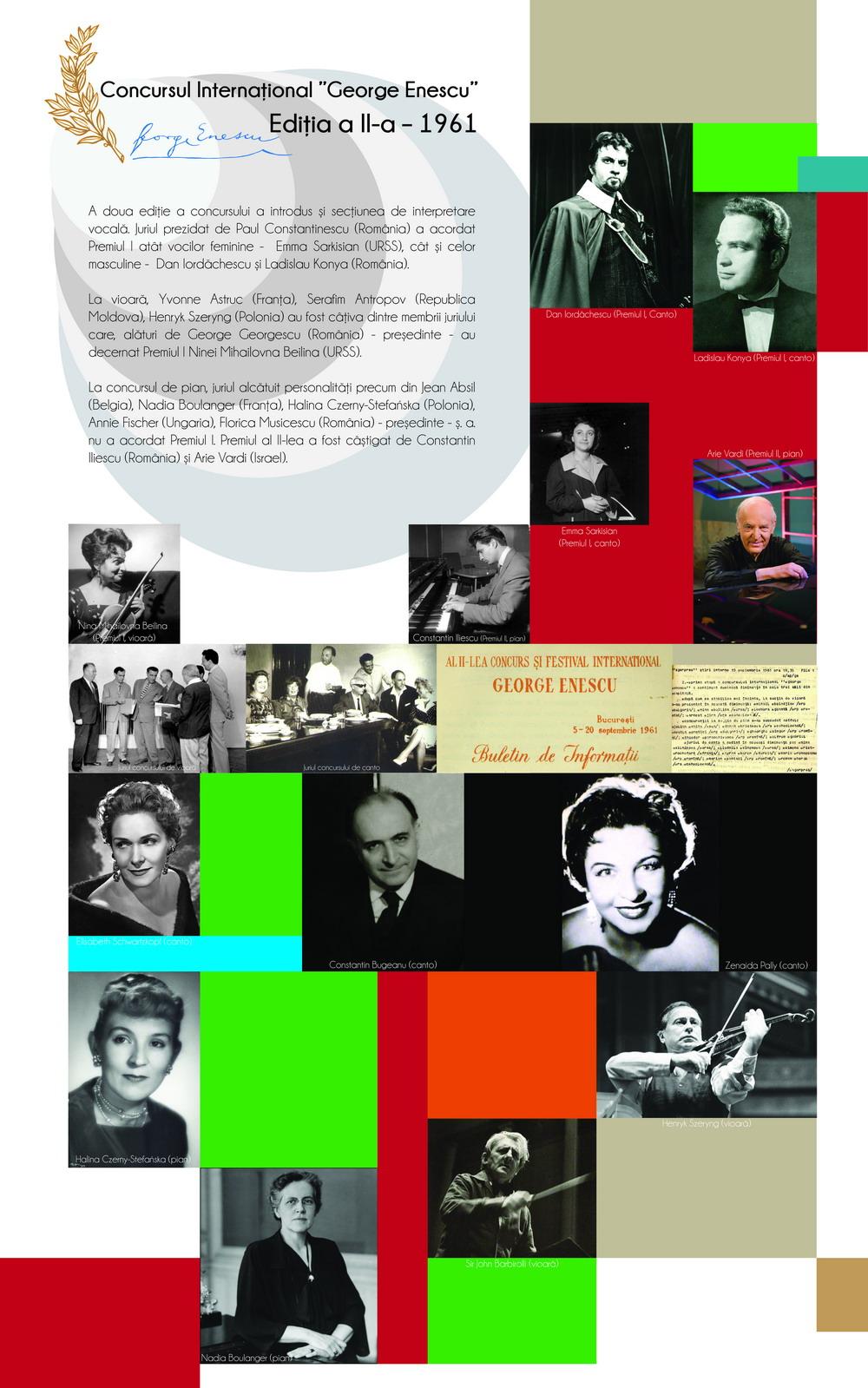 Ediția a II-a – 1961