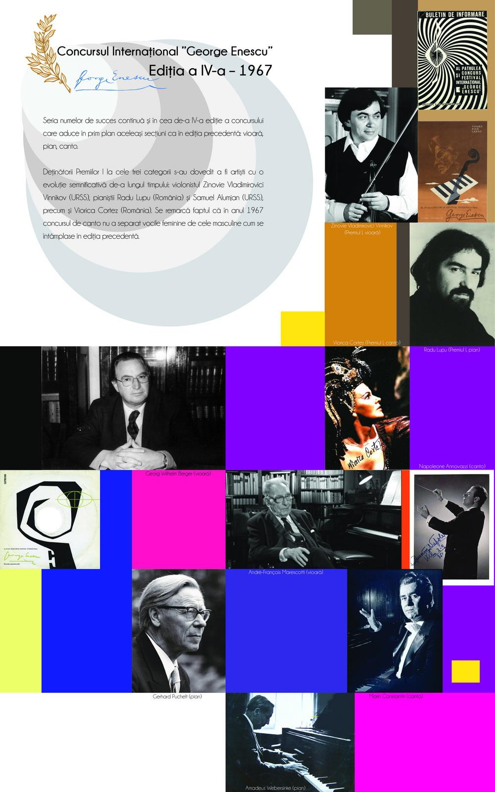 Ediția a IV-a – 1967