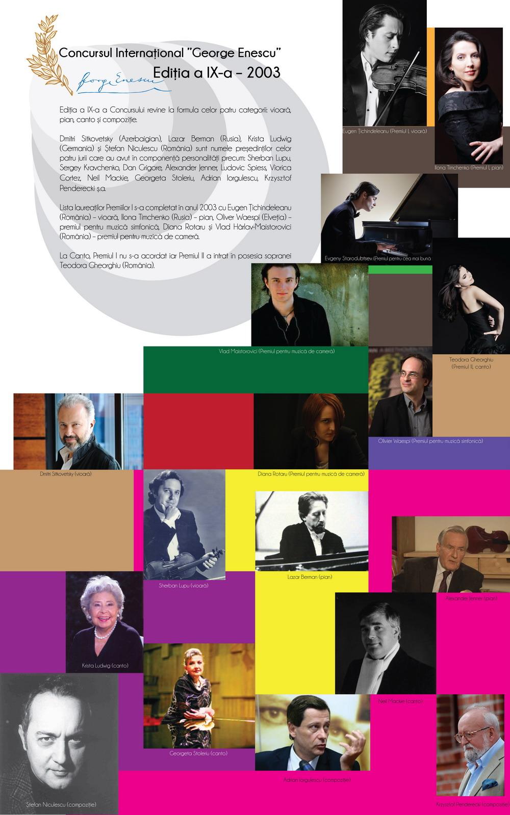 Ediția a IX-a – 2003