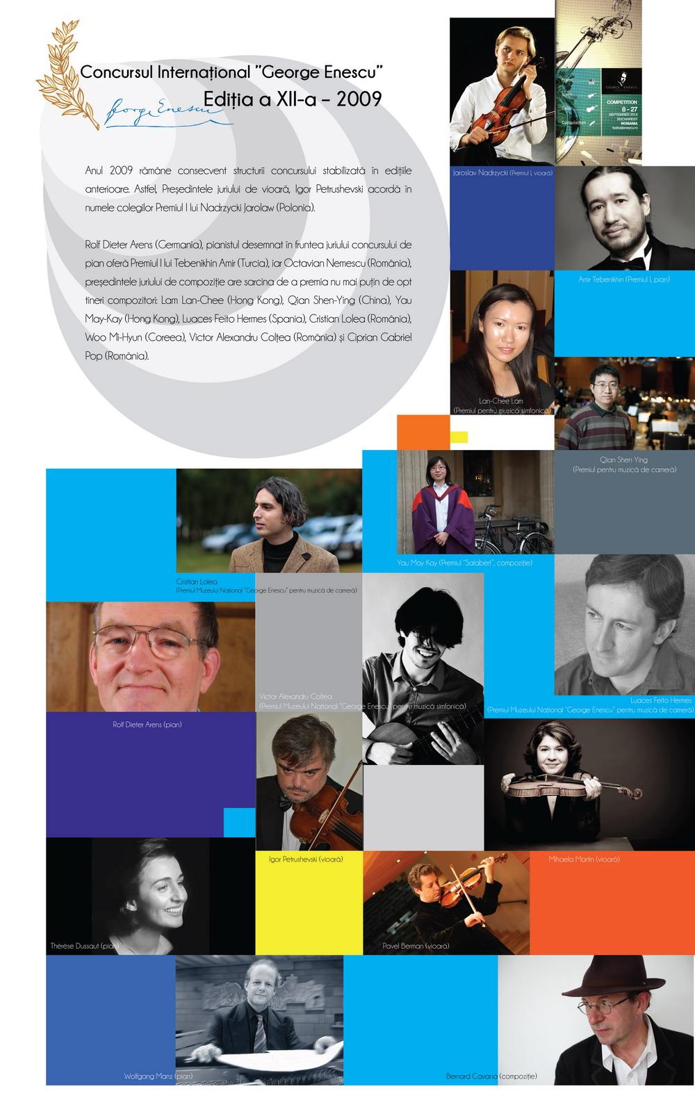 Ediția a XII-a – 2009