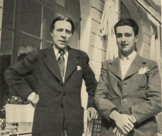 Pianistul Alfred Cortot și Dinu Lipatti