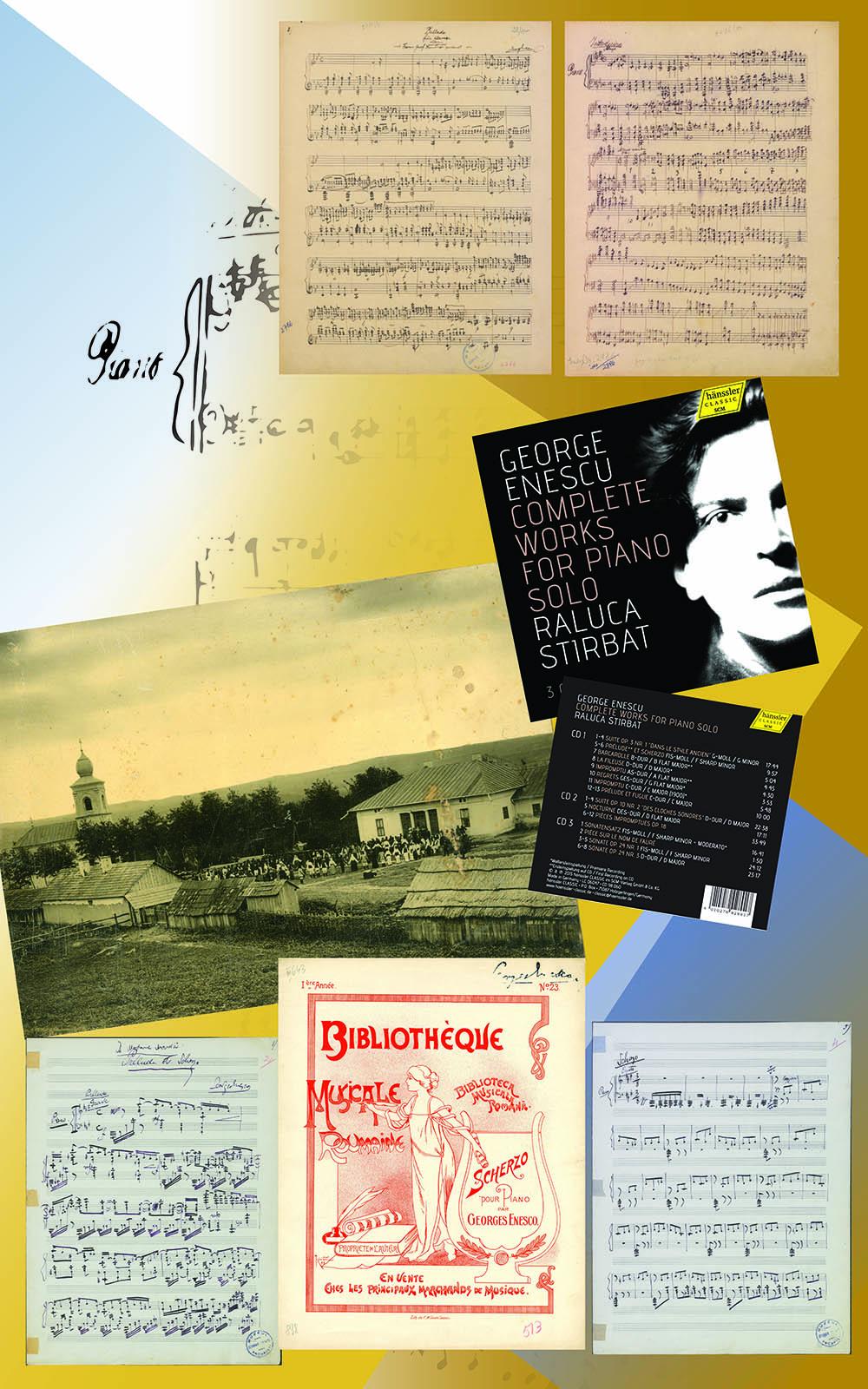 Lucrări pentru pian solo I: <em>Baladă în  si bemol major pentru pian </em>(1894)<em>; Introduzione pentru pian </em>(1894)<em>; Preludiu și Scherzo pentru pian </em>(1896)