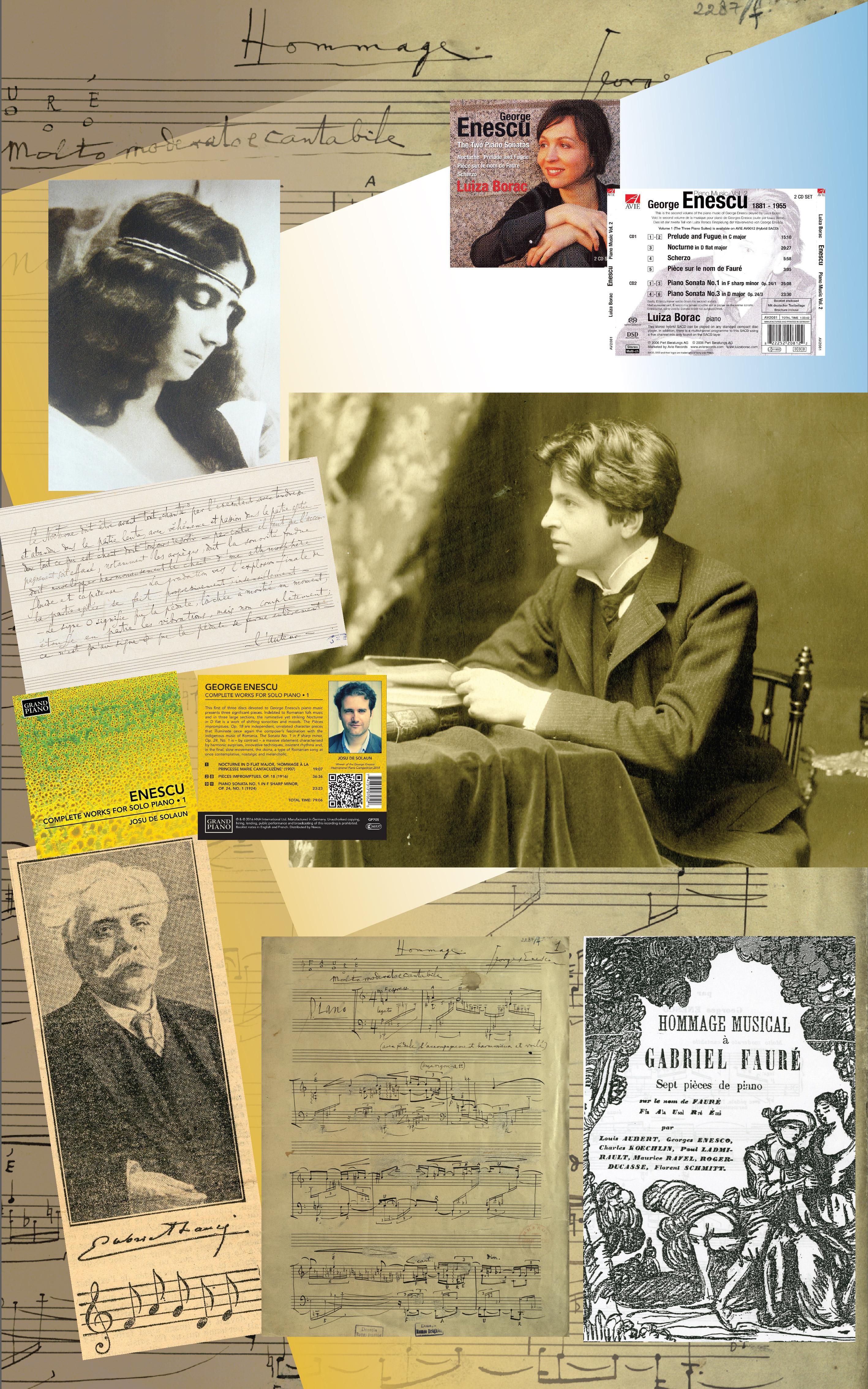 Lucrări pentru pian solo II: Nocturna în re bemol major pentru pian (1907); Pièce pour piano sur le nom de Fauré (1922)