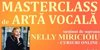 Masterclass de artă vocală 2020