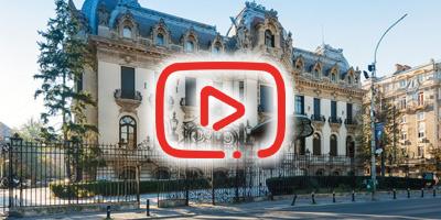 Palatul Cantacuzino -  Prezentare VIDEO