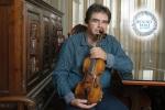 Gabriel Croitoru și legendara vioară a lui George Enescu, în recital marți la Round Table București