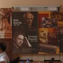 """Expoziţia """"George Enescu şi Béla Bartók"""""""