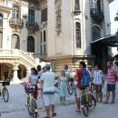 Turul cu bicicleta la muzeu!