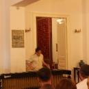 Imagini de la atelierul de interpretare - Percuţie - de la Tescani