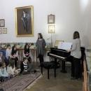 Imagini de la atelierul de improvizație și jocuri ritmice pentru copii din 29 martie 2018