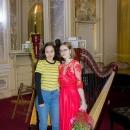 Imagini de la recitalul de harpă susținut de Dana Batschi, 2 decembrie 2018