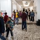 """Imagini de la vernisajul expoziției """"Rezidența Internațională Tescani 2018"""" din 19 mai 2019 de la Bacău"""