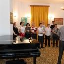 Corul Filarmonicii din Brașov în vizită la Tescani