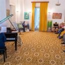 Imagini de la vernisajul REZIDENȚA TESCANI 2019 și recitalul de pian susținut de Ștefania Vasiliu.