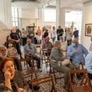 """Irina Dascalu - vernisajul expozitiei, lansare de album de arta si proiectia filmului """"Irina Acasa"""" la Galeria Alfa Bacău, 10.06.2021"""