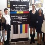 """Imagini de la Mini-Festivalul """"1 Decembrie - Ziua Naţională a României"""" de la Sinaia"""