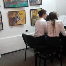 Imagini de la recitalul de pian la patru mâini din 3 iunie 2017