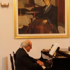 Imagini de la recitalul de pian la 4 mâini de la Tescani din 14 iulie 2017