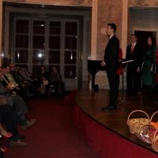 Imagini de la concertul de Crăciun susţinut de Grupul Canticum