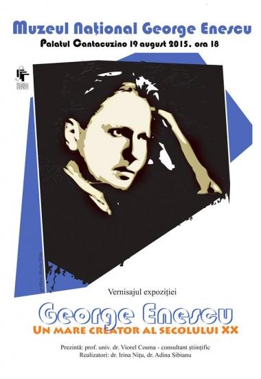 Comunicat de presă: Omagiu lui George Enescu