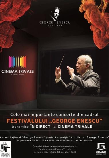 """Expoziția """"Viorile lui George Enescu"""" la Cinematograful Trivale din Pitești"""