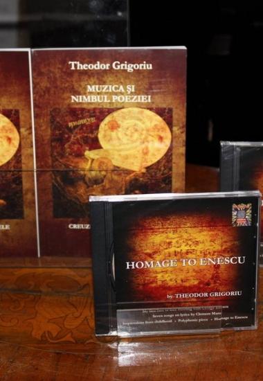 """Imagini de la lansarea CD-ului """"OMAGIU LUI ENESCU adus de Theodor Grigoriu"""""""