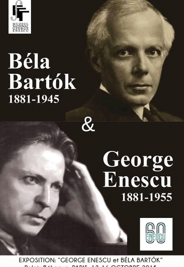 """Expoziția """"George Enescu și Bela Bartok"""""""