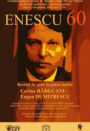 Enescu 60 la Bârlăd