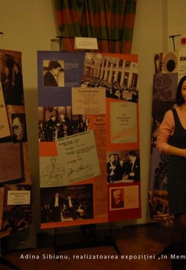 Expoziția In memoriam Constantin Silvestri la Mozartinno
