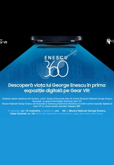 Enescu 360 - prima expoziție digitală pe Gear VR
