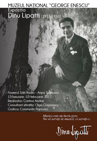 """Expoziția """"Dinu Lipatti (1917 - 1950)"""""""