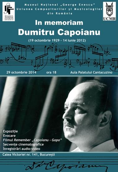 In memoriam DUMITRU CAPOIANU