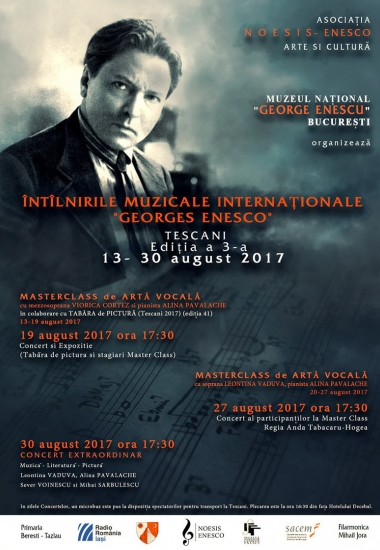 """Întâlnirile muzicale internaţionale """"Georges Enesco"""""""