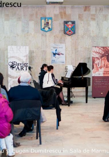 """Expoziția """"Constantin Silvestri"""" la Petroșani, în cadrul Festivalului și Concursului de pian Klavier Art"""