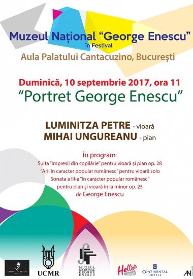 Portret George Enescu