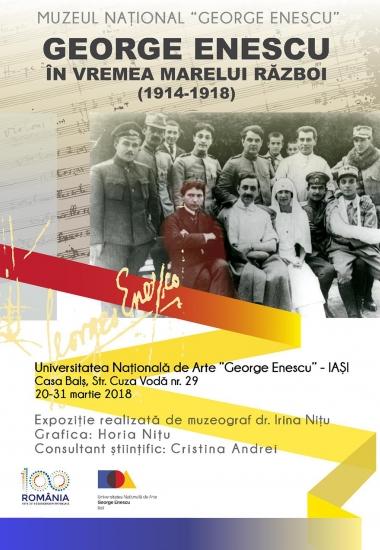 Expoziţie George Enescu în vremea Marelui Război (1914 - 1918))