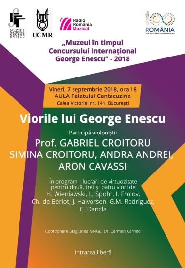 Viorile lui George Enescu