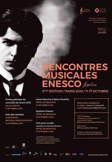 Întâlnirile Muzicale Enescu 2018