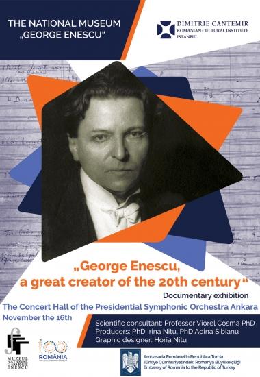 George Enescu - un mare creator al secolului XX