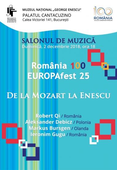 De la Mozart la Enescu